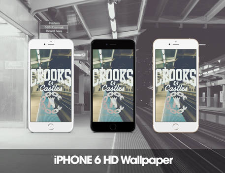 Crooks and Castles iPhone 6 HD Wallpaper
