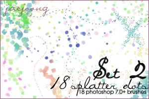 Splatterdots Set 2 - 7.0+ by Jaejoong