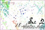 Splatterdots Set 2 - 7.0+