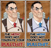 TF2- Medic hates BS. by ImagenAshyun