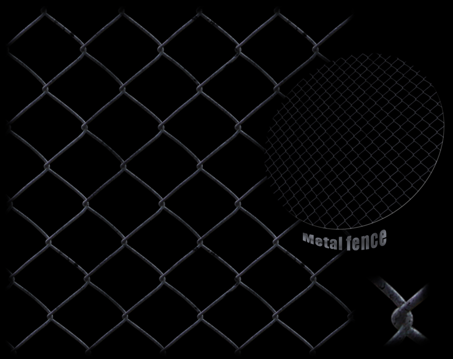 Metal Fence texture -tiled
