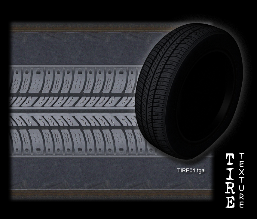 Tire texture -tiled