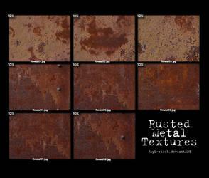 Rusted metal Pack 01
