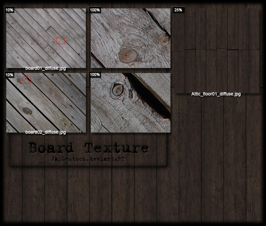 Board texture Pack 1 -tiled by JayL-stock