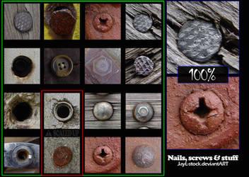 Nails, screws and stuff