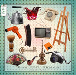 Free PSD Objects (mixed) by mistyt-stock