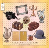 Free PSD Objects Vol.II by mistyt-stock