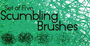 Scumbling Brushes
