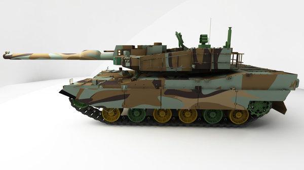 Maya model: XK2 Black Panther by parka