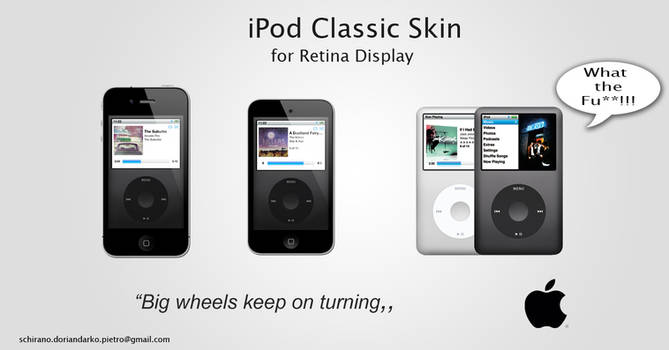 iPod Classic Skin for iPhone 4