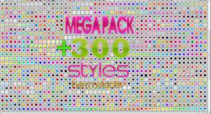 MEGA PACK +300 STYLES PS