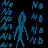 Slender no no no no no no no by PokemonBWishesCilan