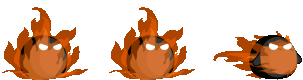 Fire Ball Character Animation
