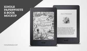 Kindle Paperwhite PSD Mockup