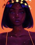 Starry Goddess