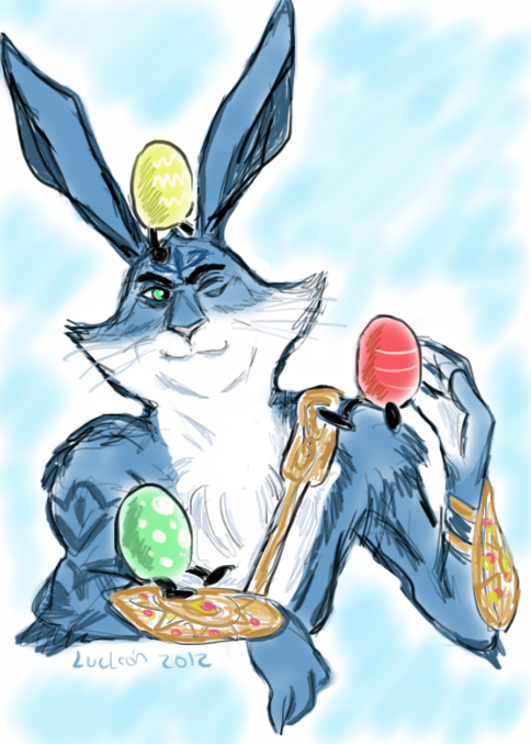 Easter Bunny X Reader