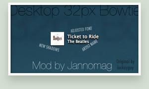 Desktop 32px Bowtie Mod by Jannomag