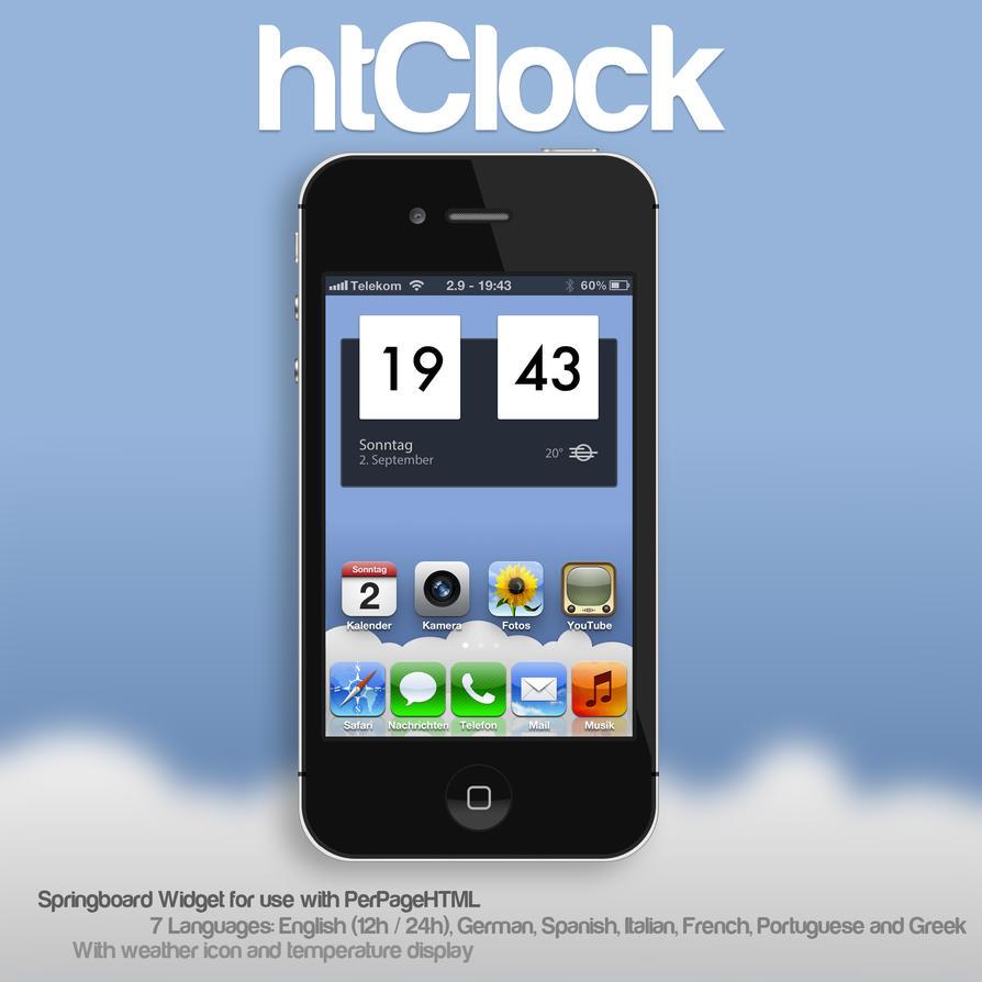 htClock by Jannomag