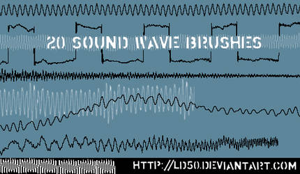 Sound wave brushes
