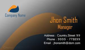 Business card by muhiza