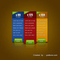 Pricing Table by muhiza