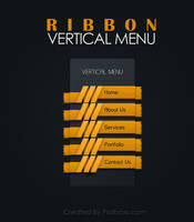 RibbonVertical Menu by muhiza