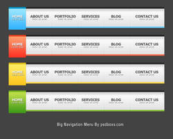 Big Navigation Menu by muhiza