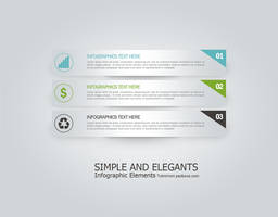 Infographics Simple And Elegant by muhiza