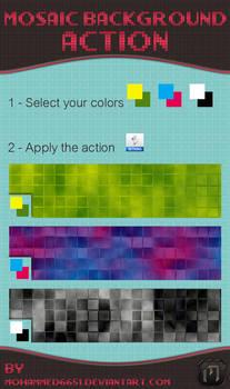 Mosaic Background Action