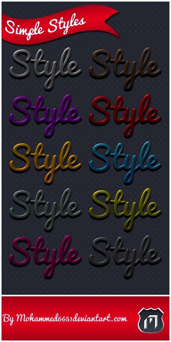 Simple Styles