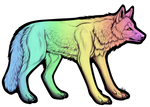 Wolf Lineart