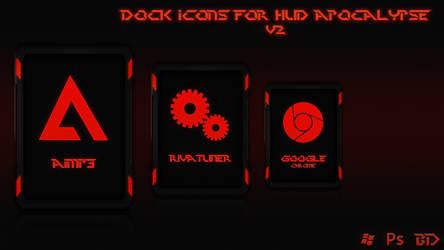 Dock Icons for HUD Apocalypse V2 by 9LWANE