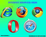Internet Browser Orbs by fredrikaw