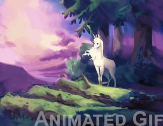 The last unicorn by MagdaPROski
