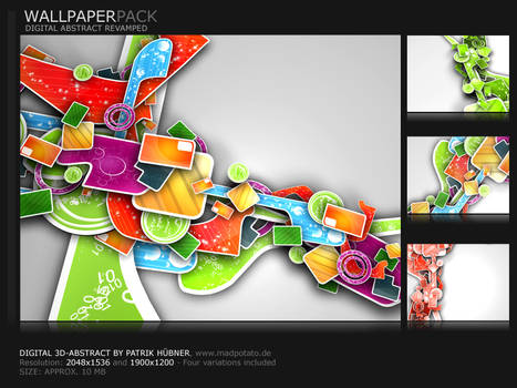 Digital 3D-Abstract-Pack