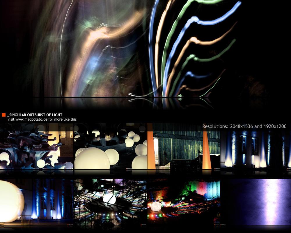 Singular Outburst Of Light by MadPotato