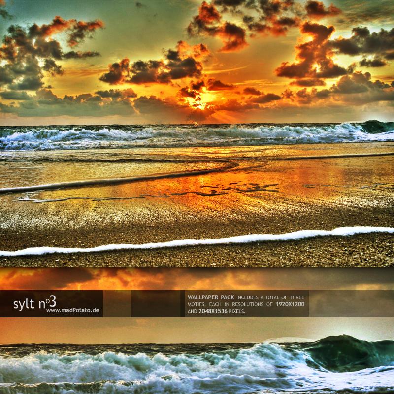 Sylt No. 3 - HDR-Wallpack by MadPotato