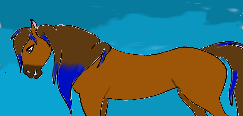 ToastyBuns Fanart-Horse by Starshine1ful