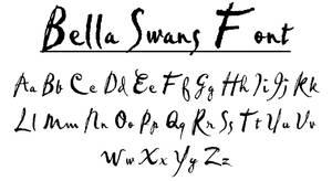 Bella Swan Font