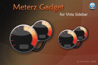 Meterz Gadget for sidebar