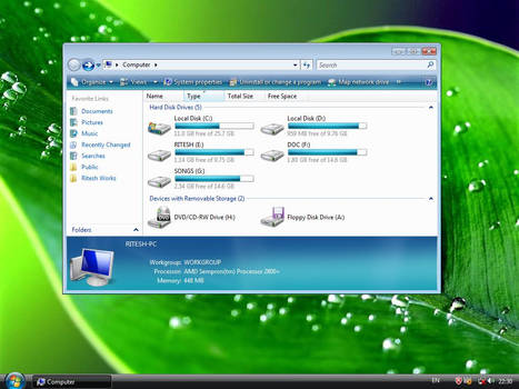 Windows 7 M1 Inspirat shell