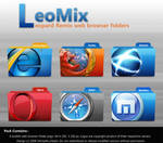 LeoMix web browser folders