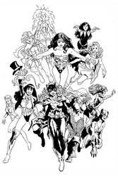 DC Girls by FrancescoTrifogli