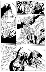 Magdalena vs Demon by FrancescoTrifogli