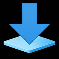 Windows 10 Download Library Icon