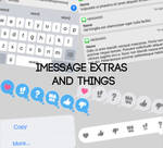 iMessage Extras PSD pack