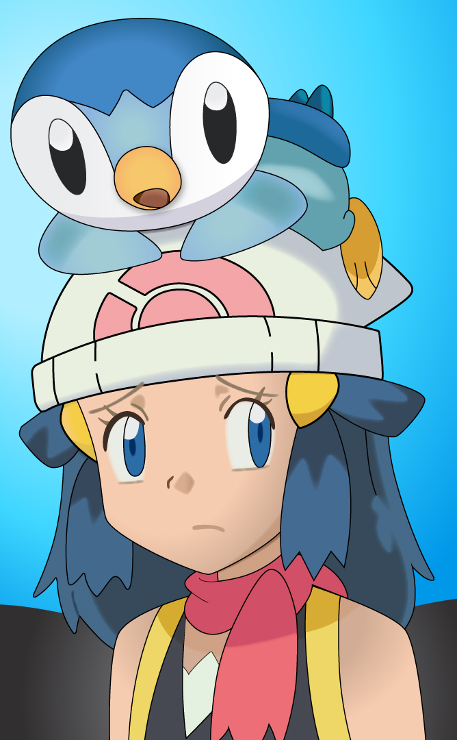 dawn_and_piplup_pokemon_by_fezvrasta-d5y