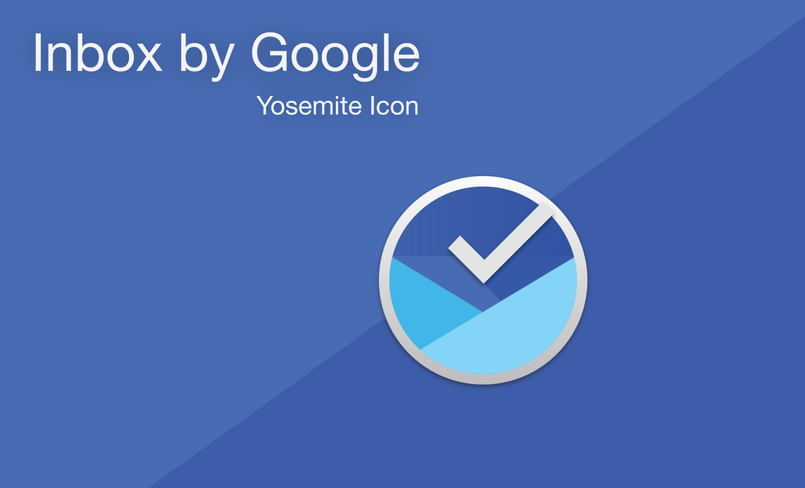 Inbox by Gmail - Yosemite Style icon by FezVrasta