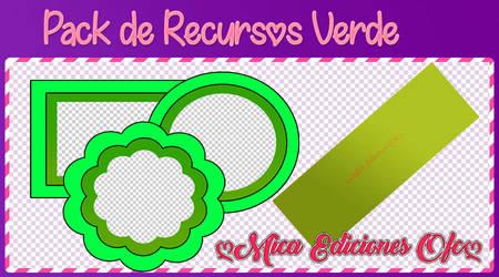 Pack de Recursos Verdes  by MiicaEdicionesOfc