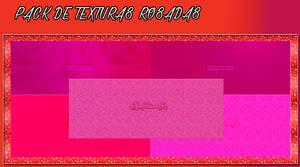 Pack de Texturas rosas